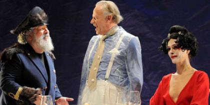 """Al Teatro Quirino per """"L'Uomo, la bestia e la virtù"""""""