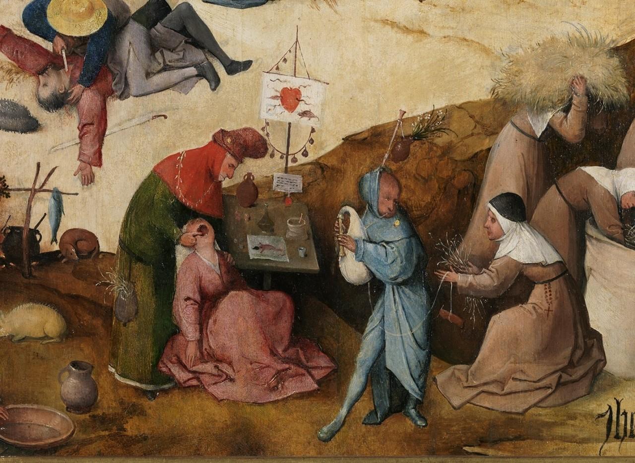 Antonius Drieluik - Jeroen Bosch   Temptation of st