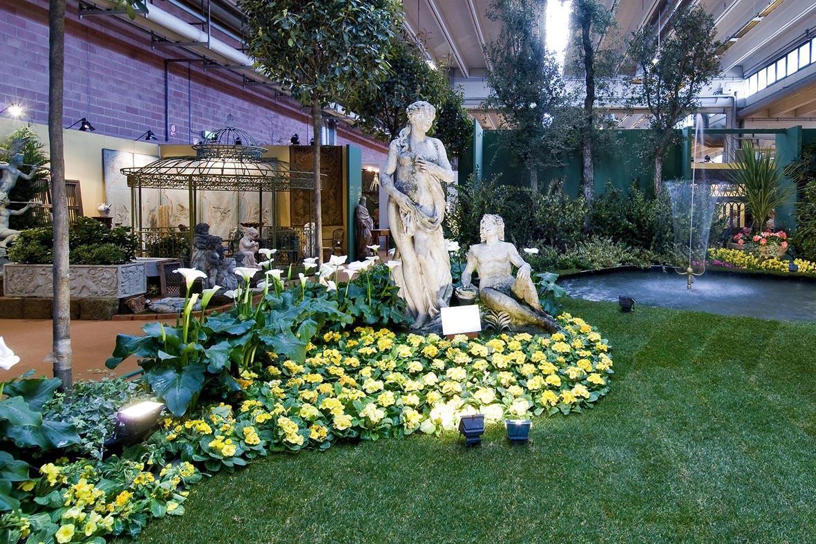 In mostra a ModenaFiere, antiquariato e arredo da giardino
