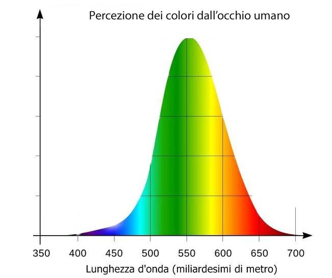 XX2 Percezione umana colori