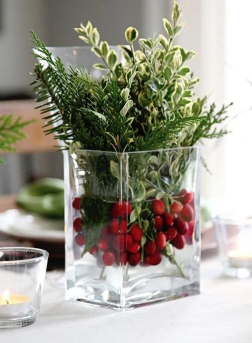 Il più semplice, con Bacche di bosco e piante aromatiche