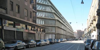 un altro punto di vista dell'edificio