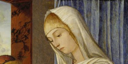 Vittore Carpaccio, Madonna col Bambino e san Giovannino,