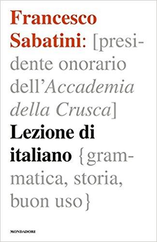 Francesco Sabatini_lezione di italiano