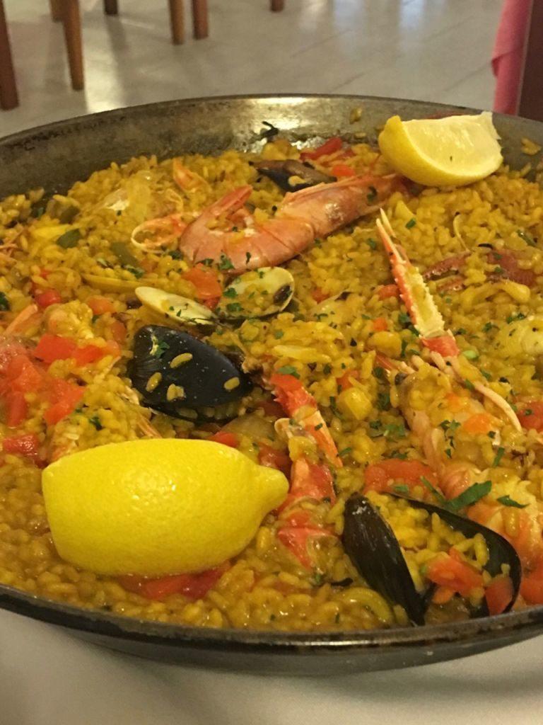 Cucina E Voglia Di Viaggiare La Paella