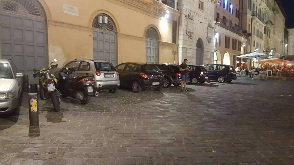 parcheggio reato