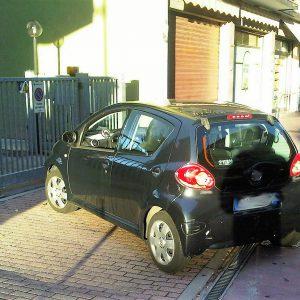 reato parcheggio