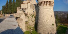 Brescia Italy Castello