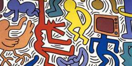 I diritti dell'uomo di Keith Haring