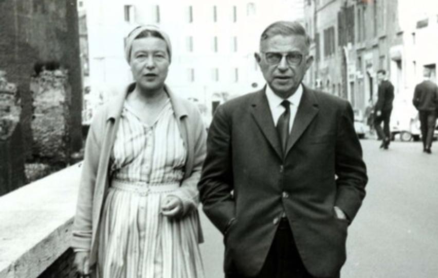 Simone de Beauvoir e Jean Paul Sartre